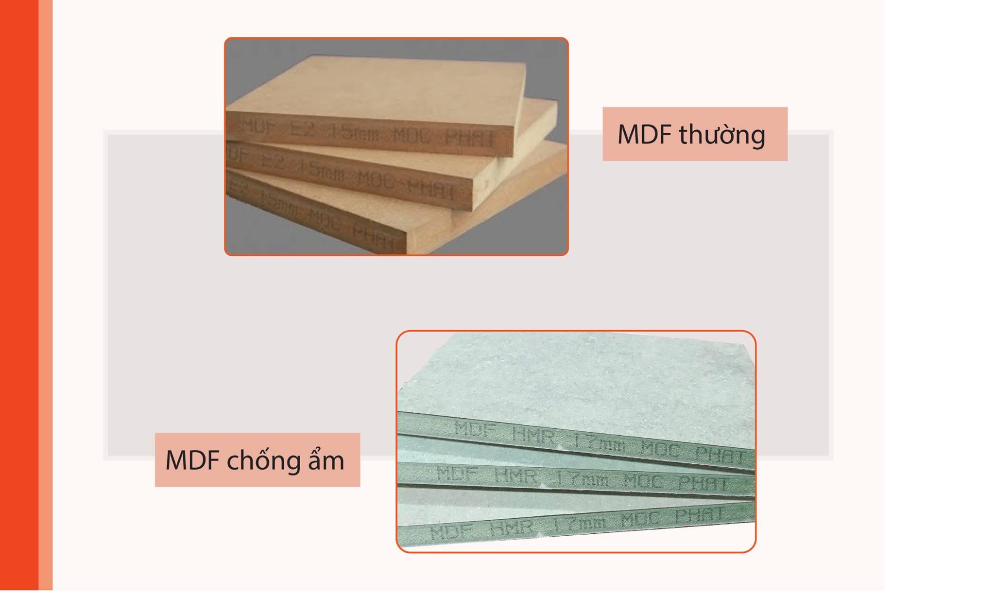 Ván gỗ MDF và ứng dụng trong sản xuất nội thất