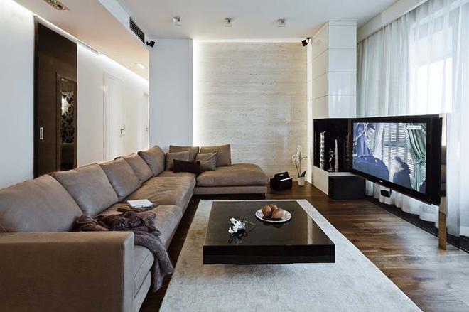 Trang trí phòng khách đón Tết