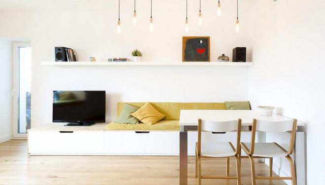 Nội thất gỗ công nghiệp tối giản