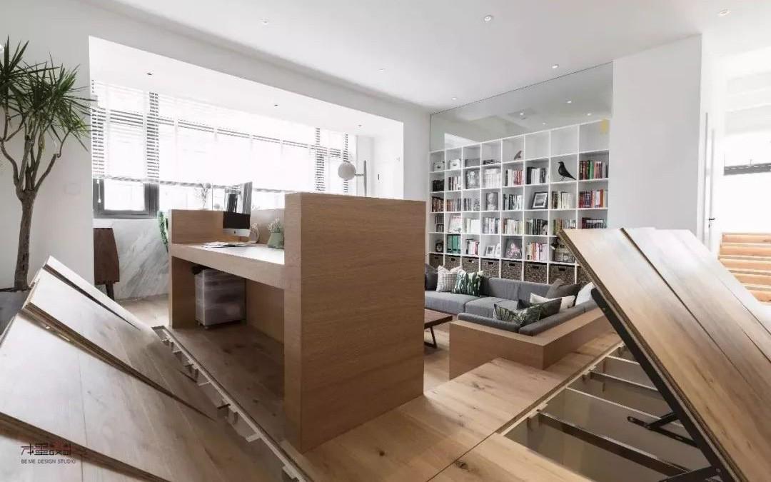 Kinh ngạc với ngôi nhà sở hữu không gian lưu trữ rộng dưới mặt sàn gỗ