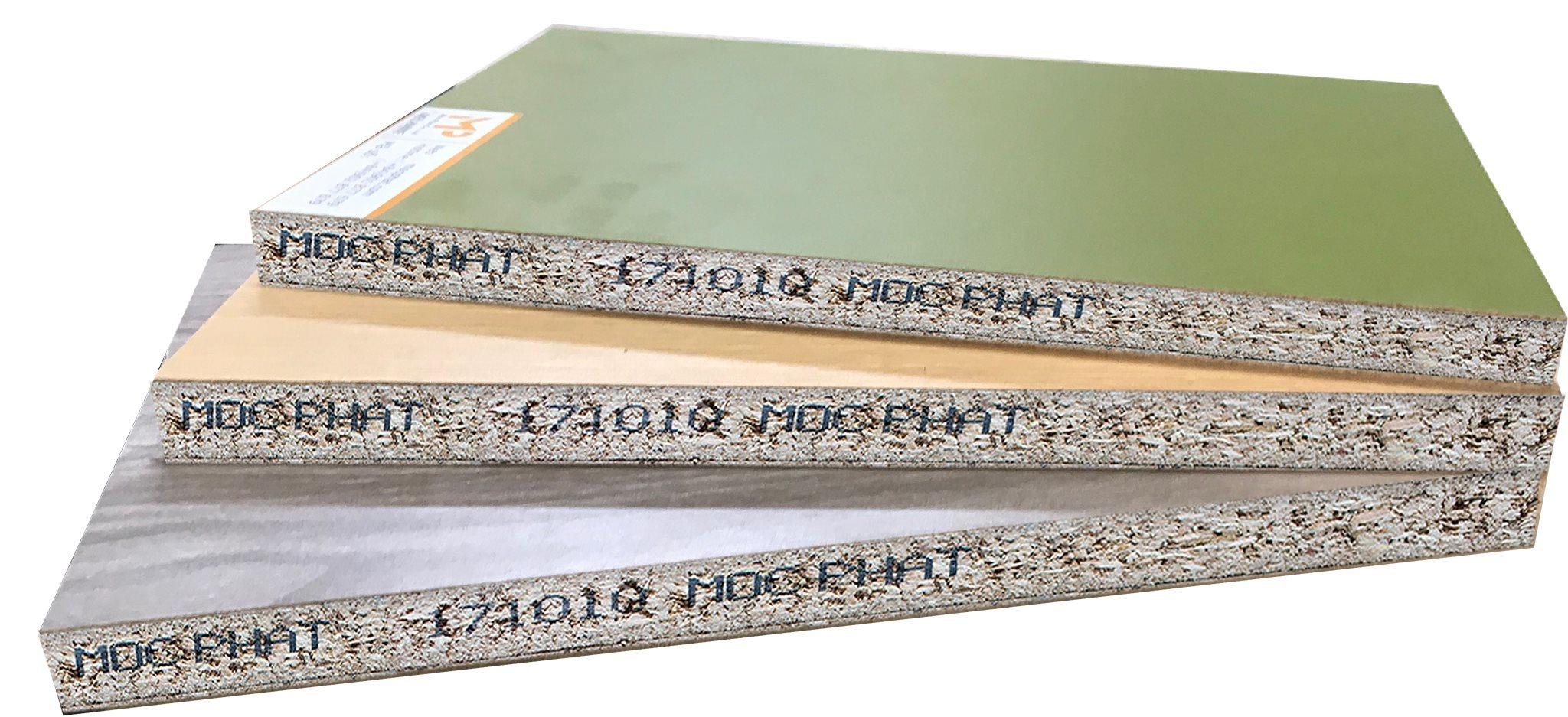 Ván dăm (Okal) và bề mặt Melamine tiêu chuẩn Mộc Phát: Vật liệu nội thất được ưa chuộng