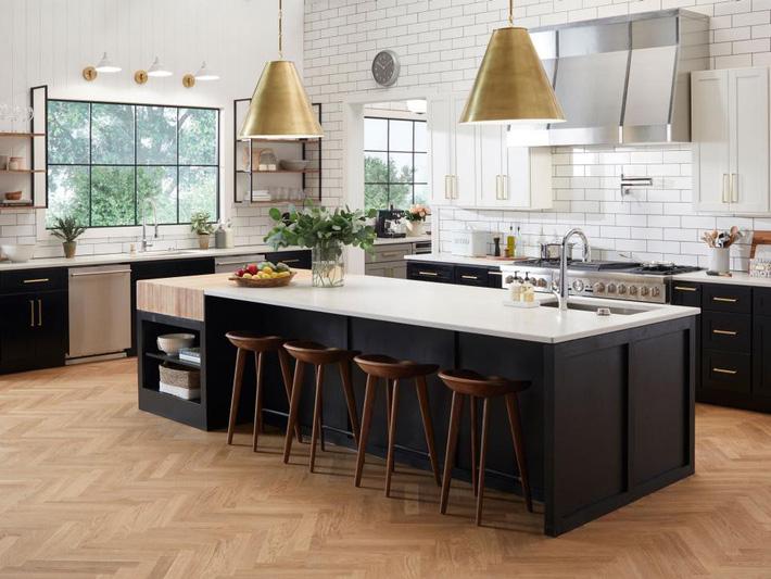 Những mẹo giúp bạn hô biến nhà bếp rộng lên trông thấy