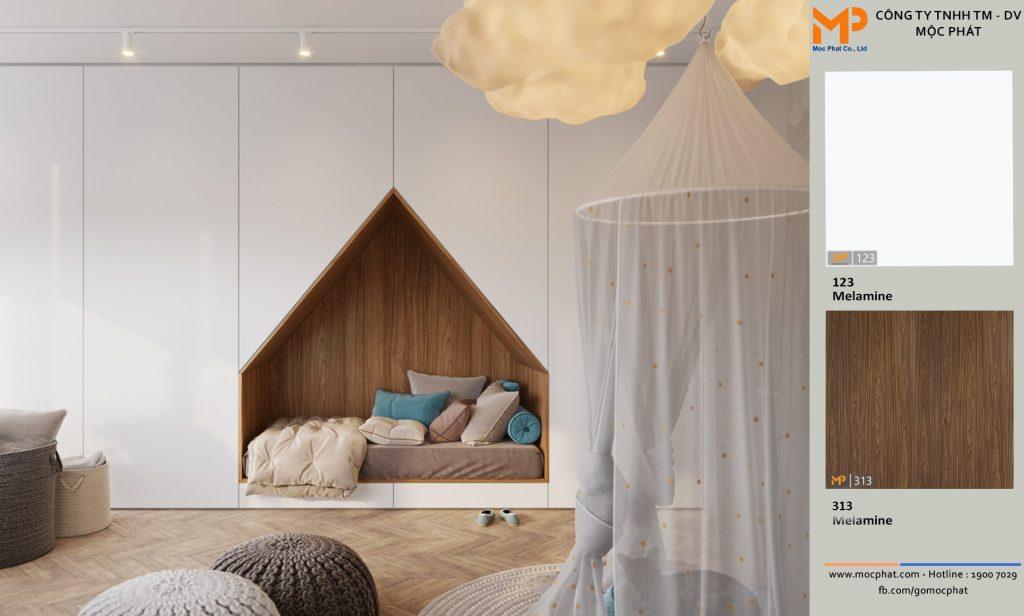 Không gian phòng ngủ cho trẻ